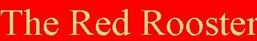 Red Rooster Banner
